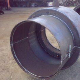 Bicchieri semitubi per riparazioni dei tubi in CAP